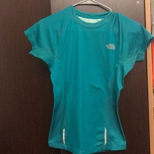 north face athletic top